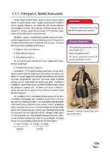 10. Sınıf Kimya Ders Kitabı Cevapları Uygun Basım Yayınları Sayfa 14