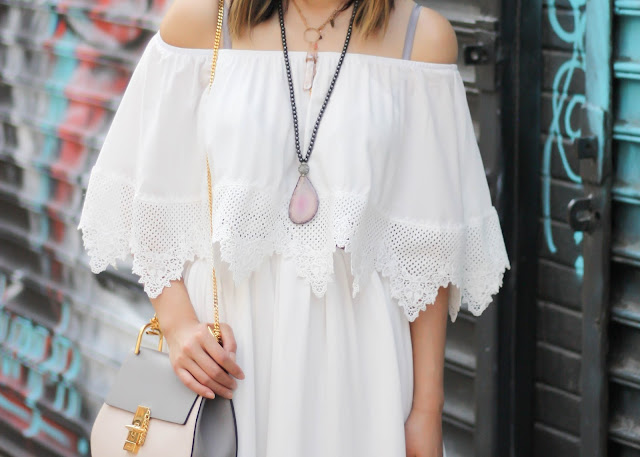 Boho Necklaces and Chloe Bag