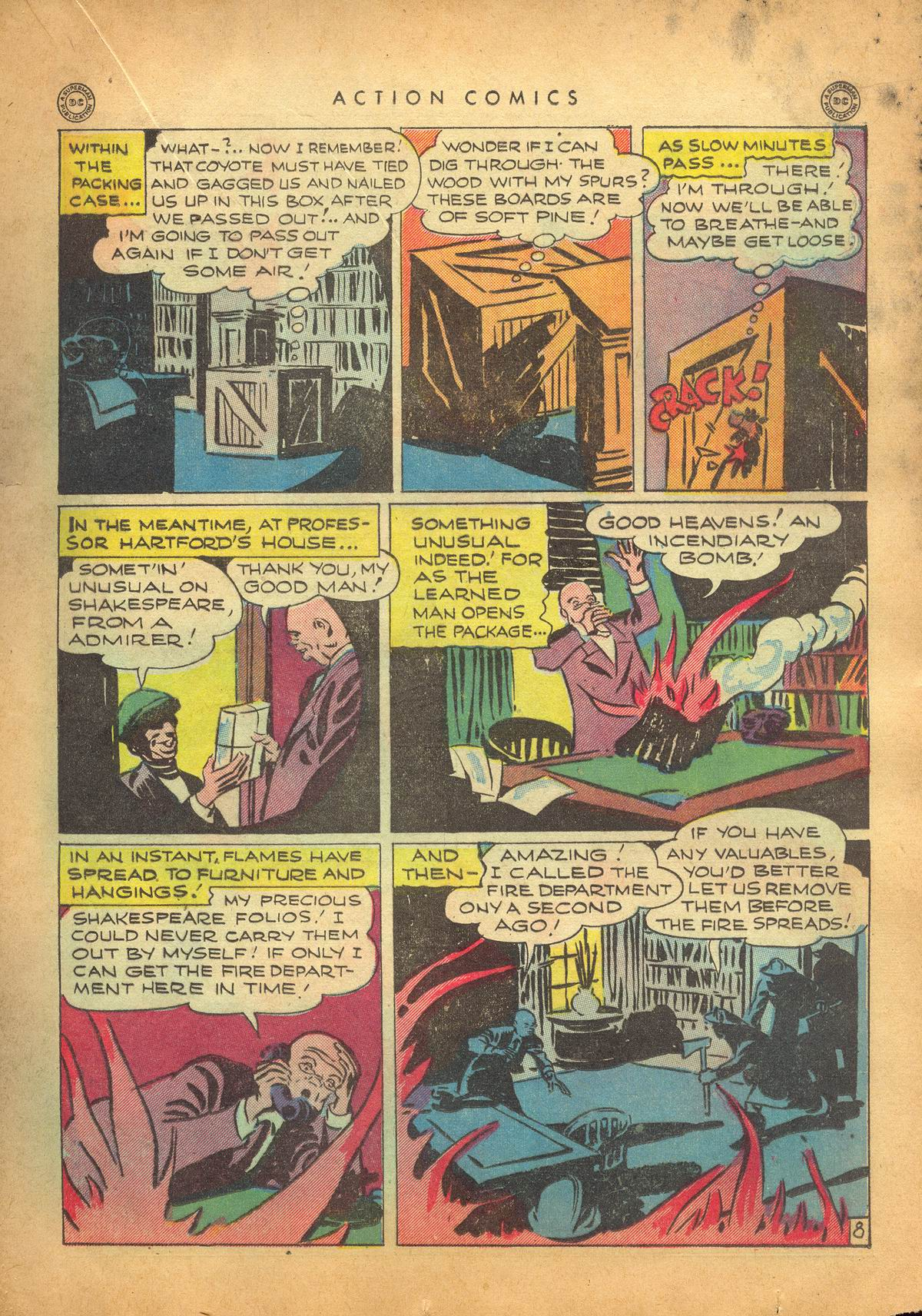 Read online Action Comics (1938) comic -  Issue #95 - 30