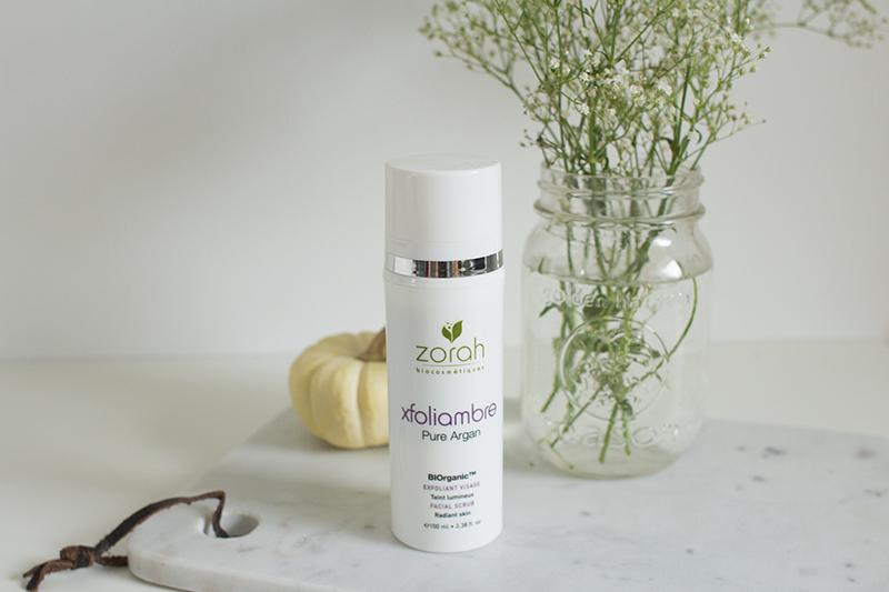 Organic skin face scrub