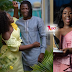 Exclusive Photo: Checkout the Customized  Cake Of Stonebwoy and Wife's First Anniversary