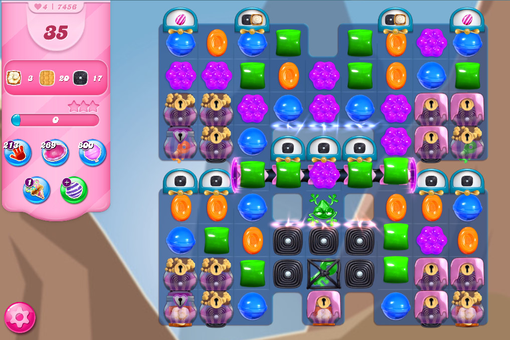 Candy Crush Saga level 7456