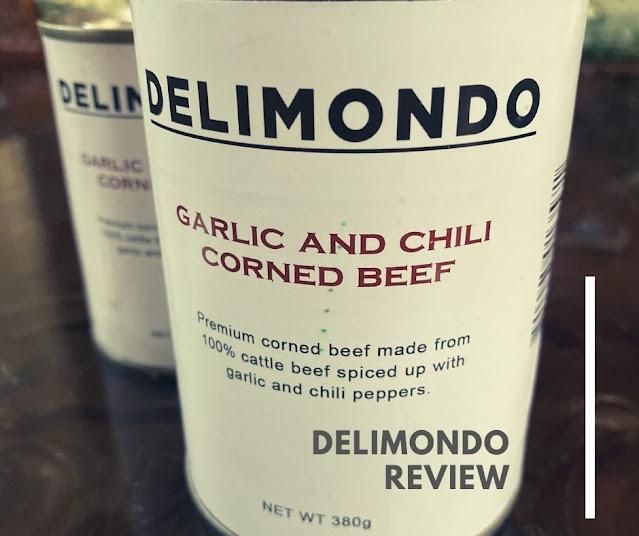 Delimondo chili and garlic corned beef