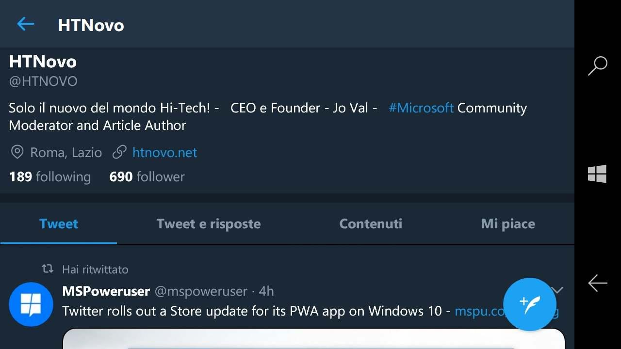 Twitter-PWA-rotazione-schermo