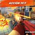 Mucha accion y disparos en el juego Guns of Boom