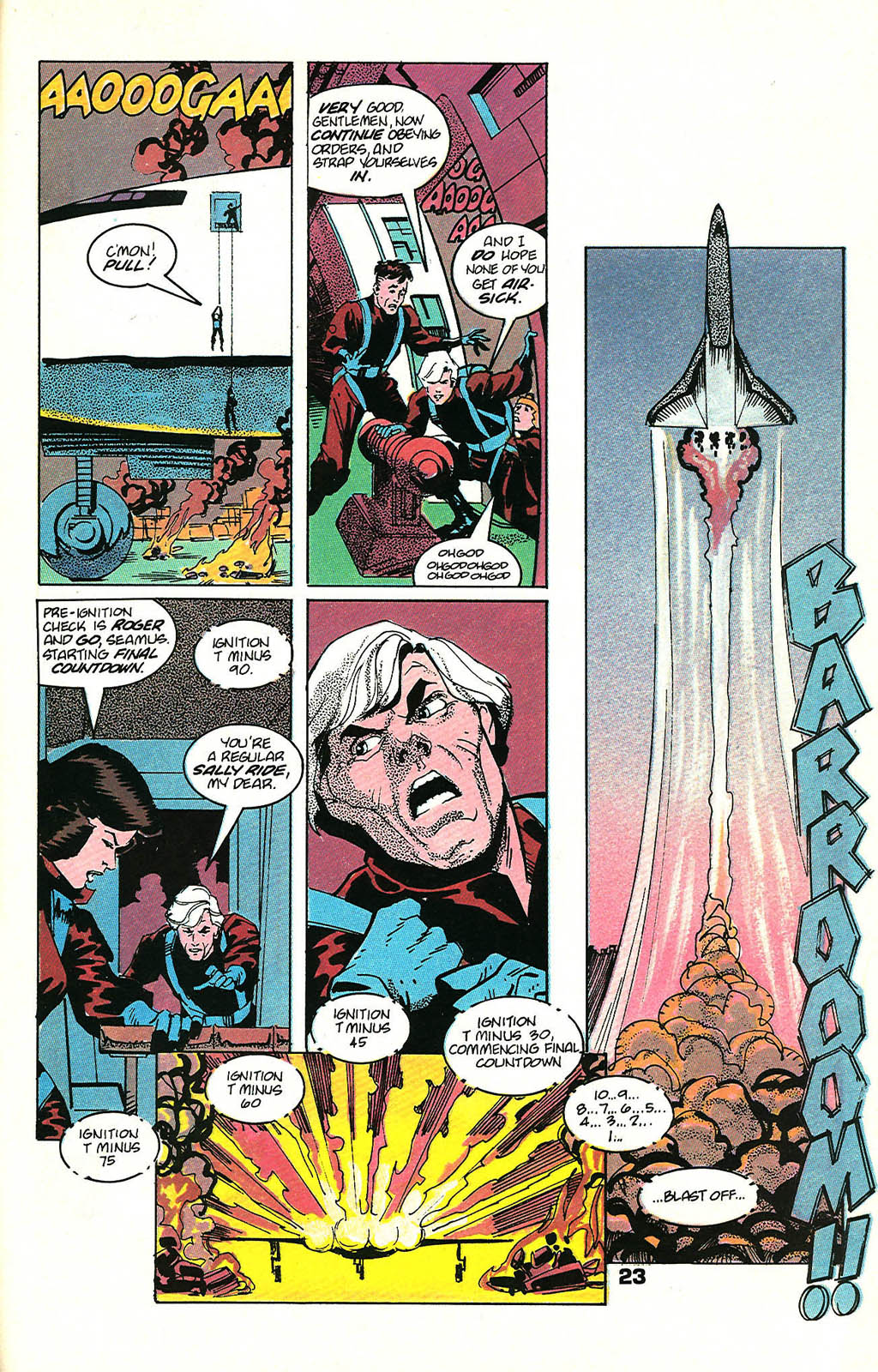 Read online American Flagg! comic -  Issue #48 - 29