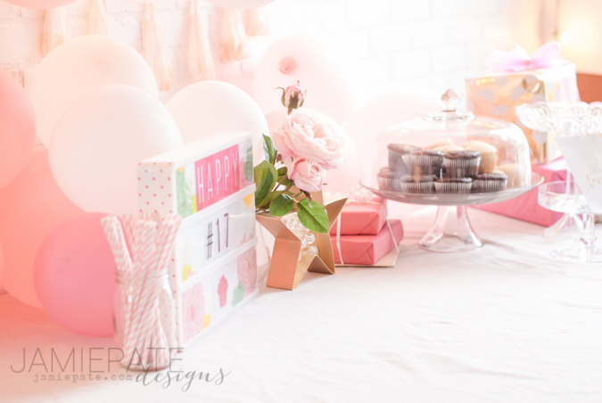 How to Happy Birthday with the Heidi Swapp Lightbox | @jamiepate for @heidiswapp