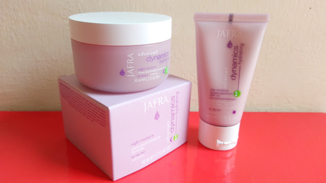 Review Jafra Advanced Dynamics Hydrating Day and Night Moisture