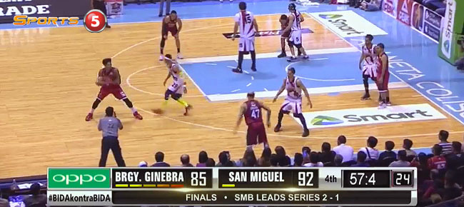 San Miguel def. Ginebra, 94-85 (REPLAY VIDEO) Finals Game 4 / March 3
