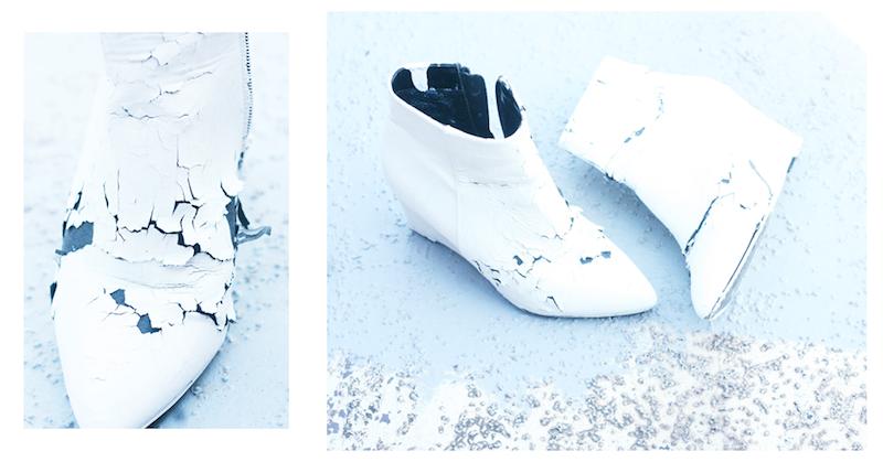 5beea806f26 DIY margiela paper shoes   - Trashion Helsinki -