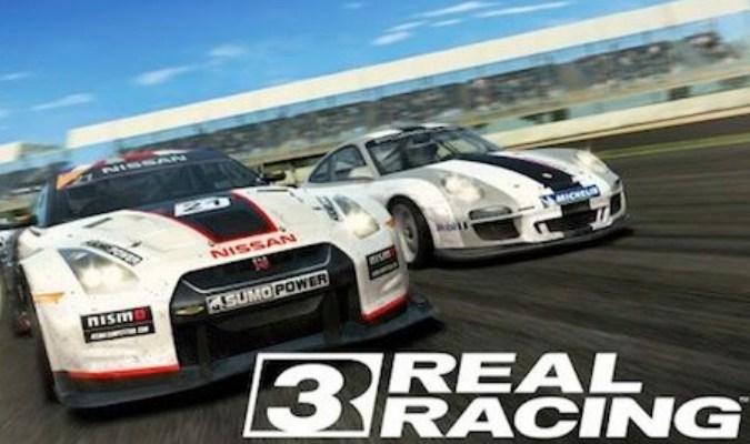 Game Balap Mobil tuk Android - Real Racing 3