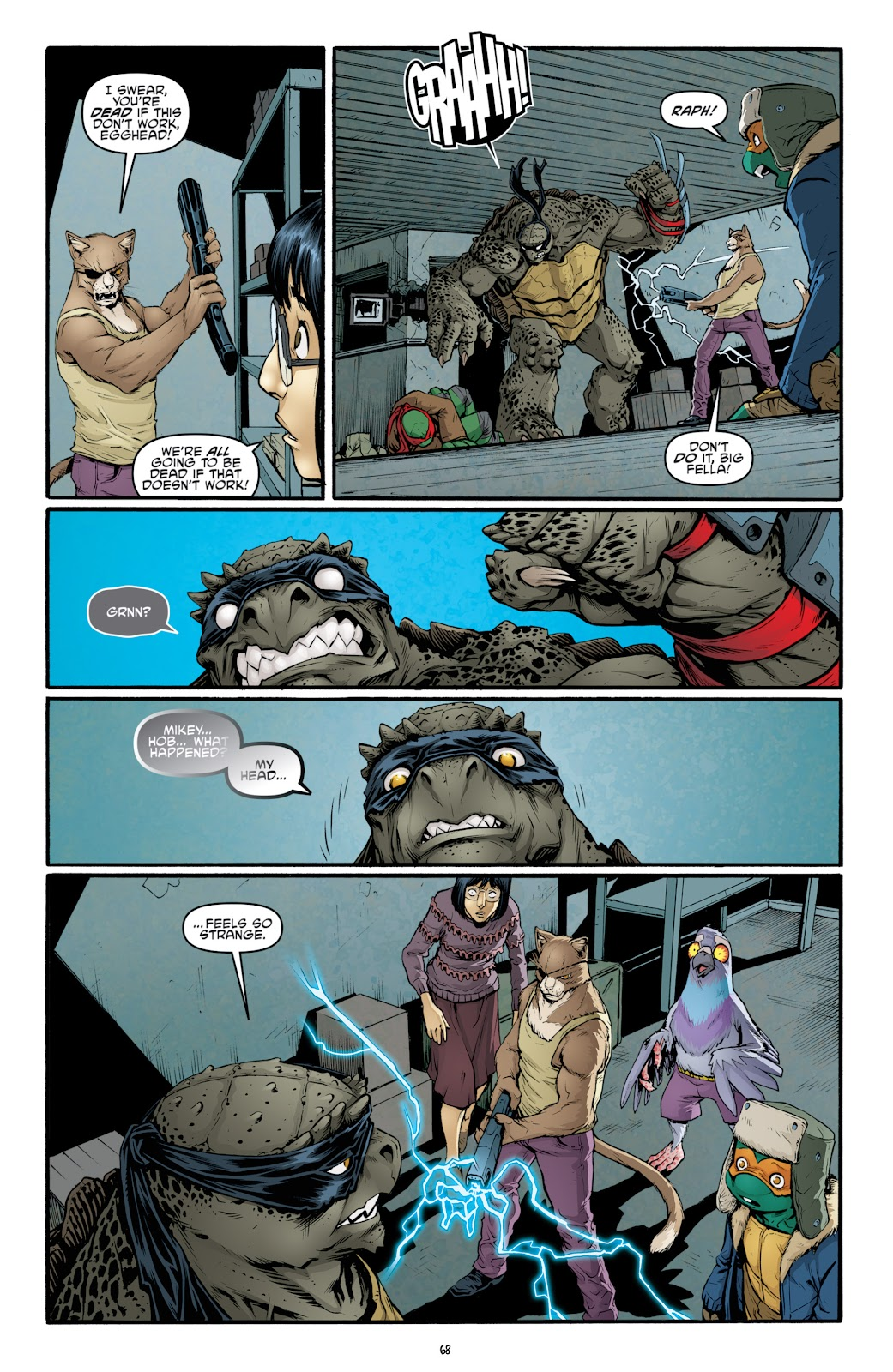 Read online Teenage Mutant Ninja Turtles: The IDW Collection comic -  Issue # TPB 4 (Part 3) - 74