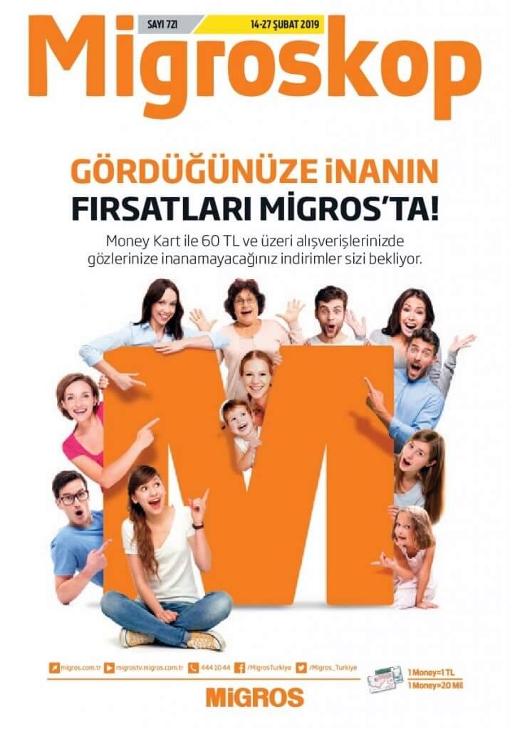 Migros 14 Şubat - 28 Şubat 2019 Aktüel
