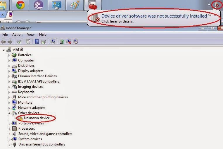 Rockchip usb Driver Windows 7