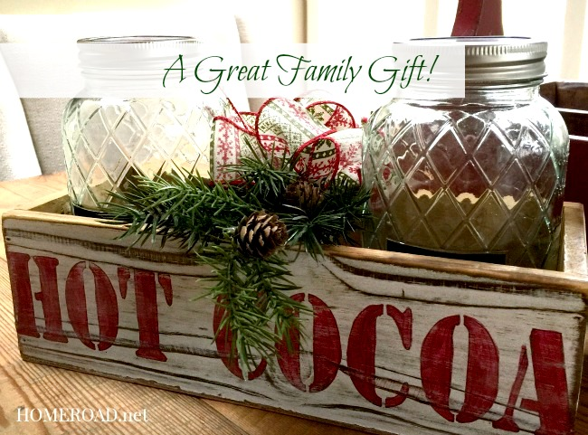 A Simple Hot Cocoa Station Gift www.homeroad.net