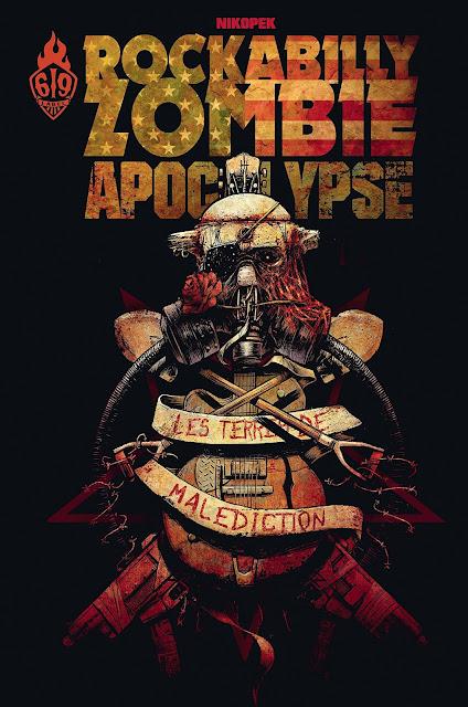 L'Agenda Mensuel - Septembre 2017 Livre Comics Rockabilly Zombie Apocalypse