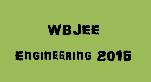 WBJEE Engineering 2017