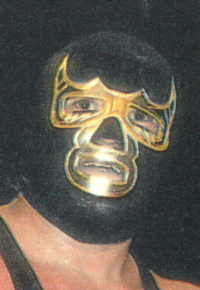 La misma máscara pero en diferente color que la de Blue Demon 8a18bf41a32