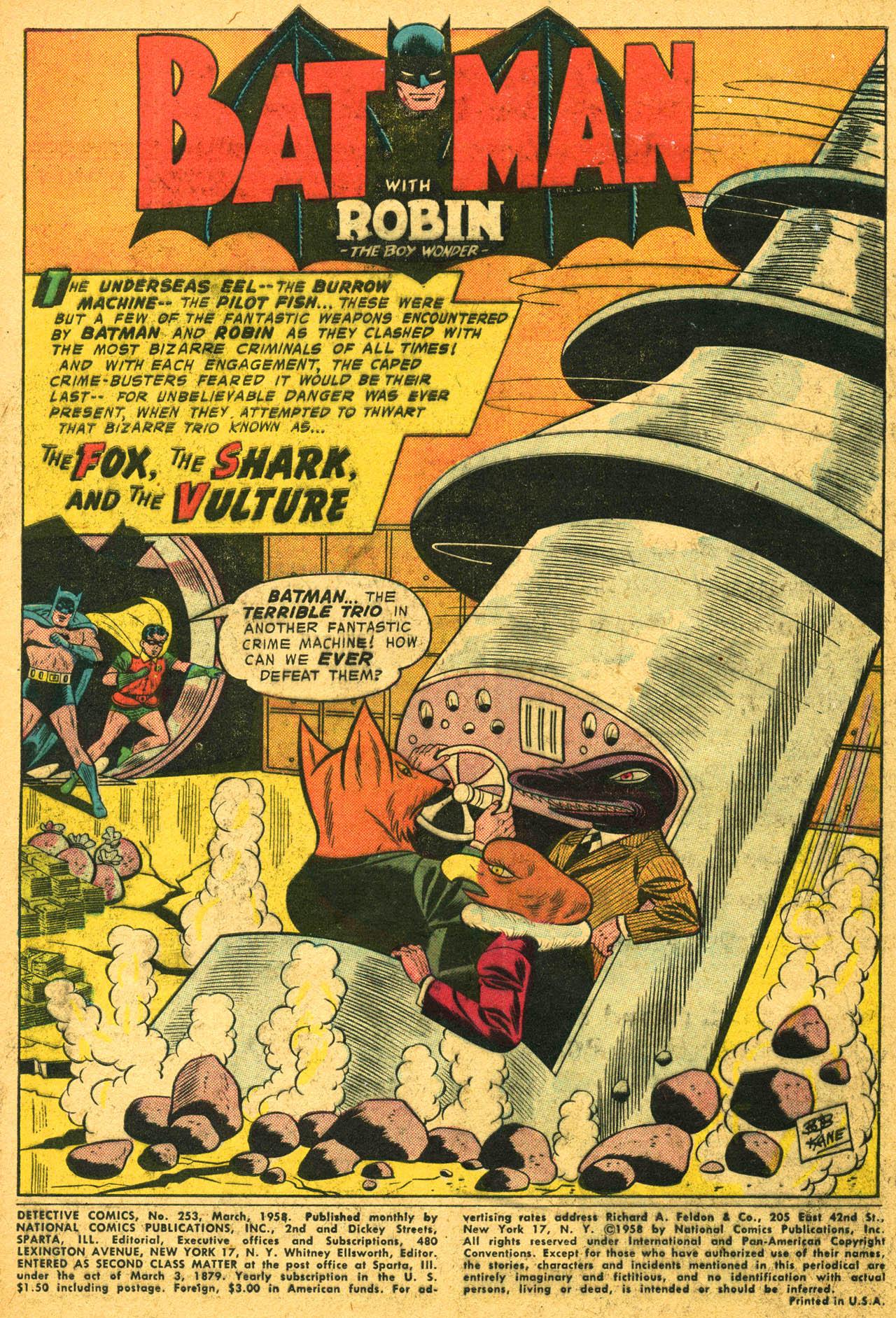 Detective Comics (1937) 253 Page 2