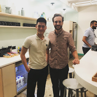 Alaric Ong with Lane Matkovich from Shopify