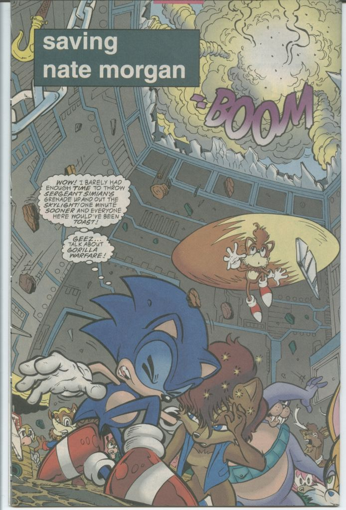 Read online Sonic The Hedgehog comic -  Issue #70 - 4