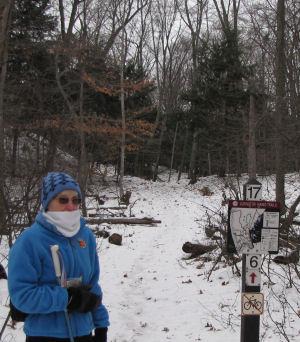 Ridge Trail trailhead Ludington State Park