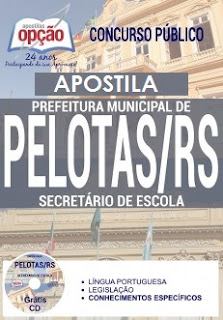 Apostila para o concurso Prefeitura de Pelotas 2017 Grátis vídeo aulas