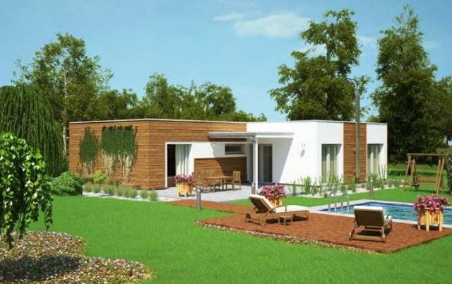 Plano de casa de un piso con piscina planos de casas for Planos de casas con piscina