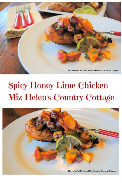 Spicy Honey Lime Chicken at Miz Helen's Country Cottage