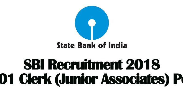 Sbi Clerk Recruitment 2018 8301 Vacancies Govt Jobs