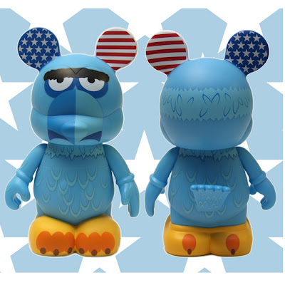 The Muppets Disney Vinylmation Series 2 - Sam the Eagle 9 Inch Vinyl Figure