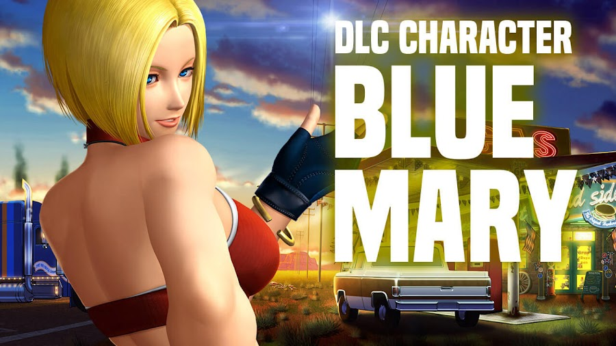 blue mary king of fighters xiv character dlc