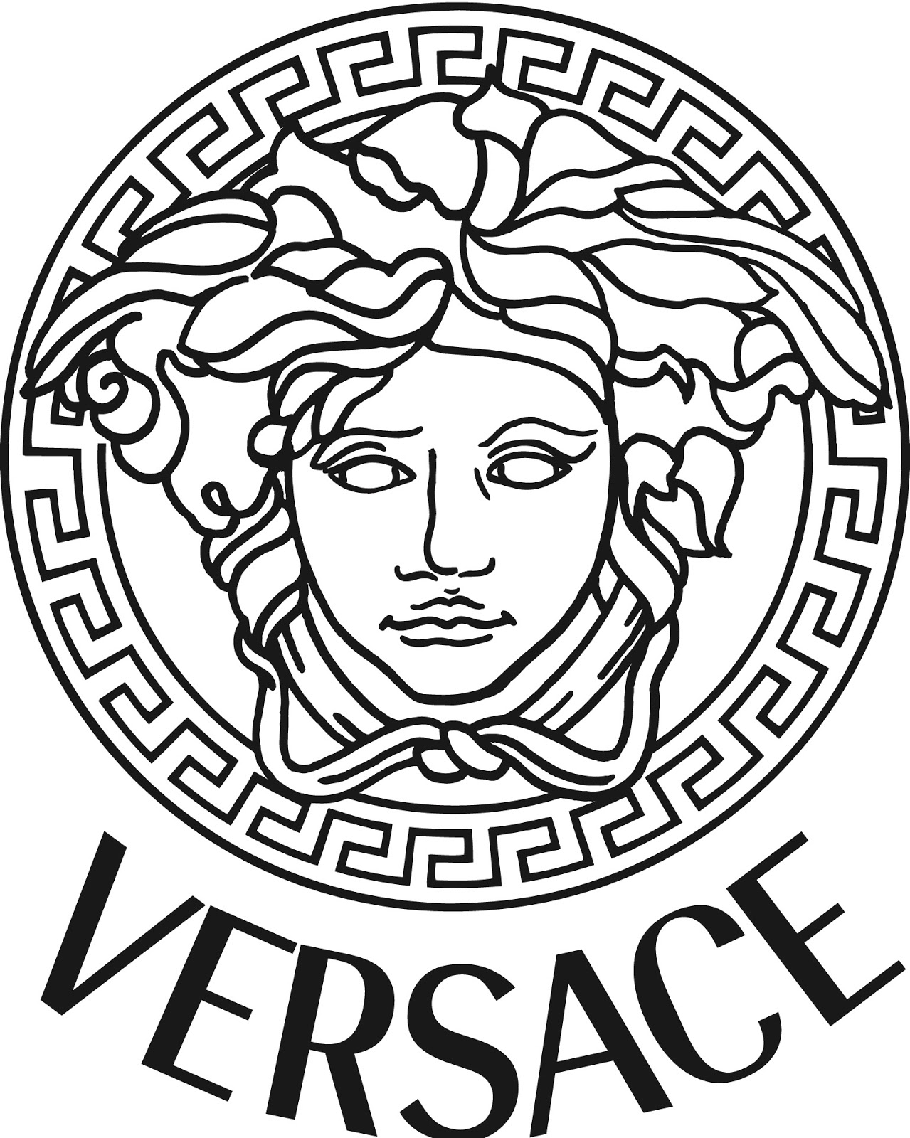 Medusa And Versace Head Symbol Fashion Semiology