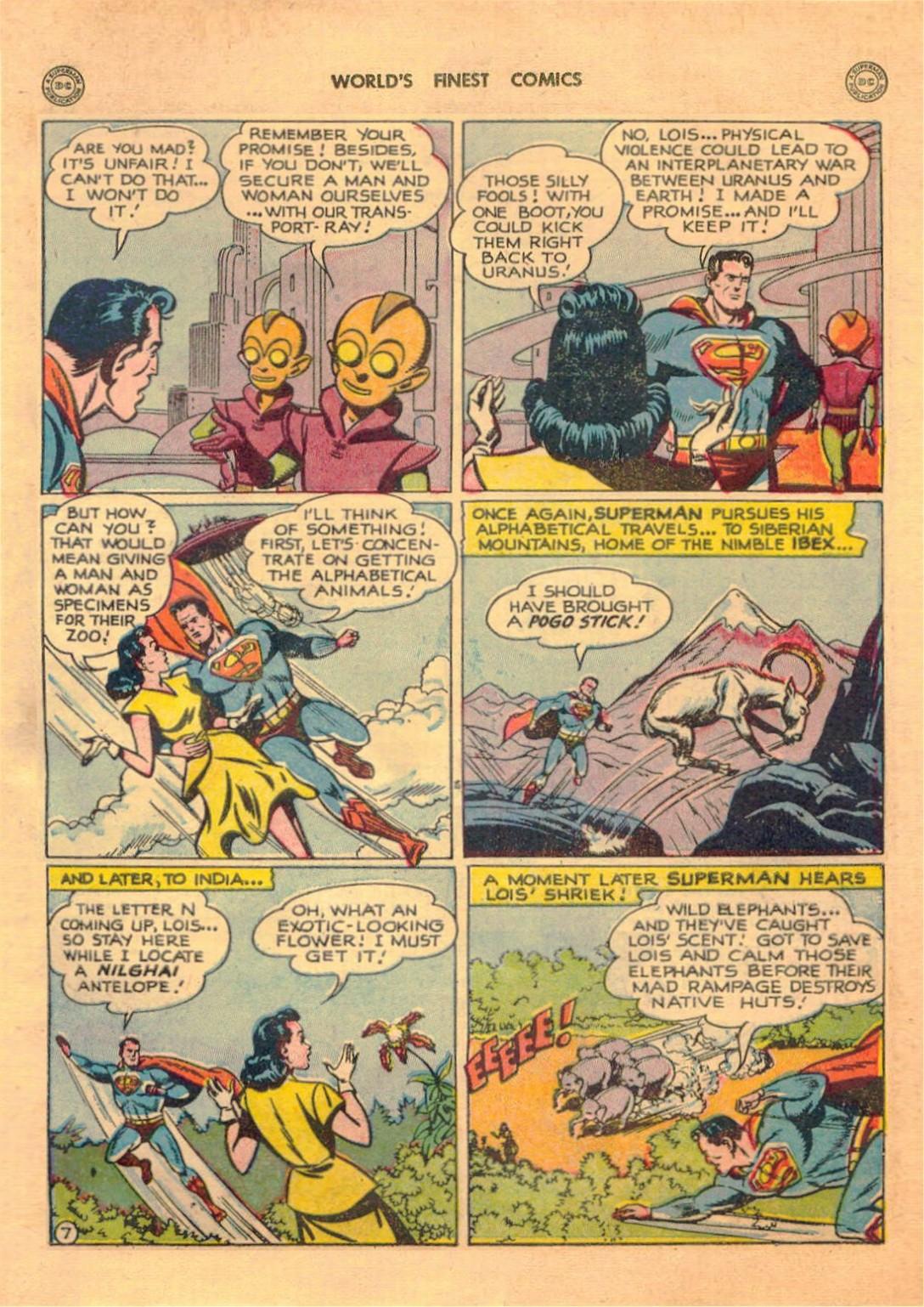 Read online World's Finest Comics comic -  Issue #42 - 9