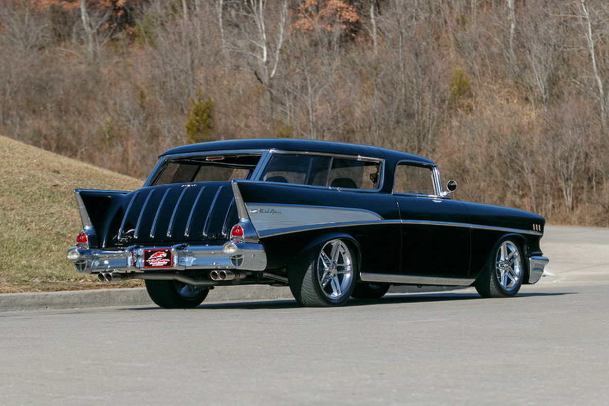 This Restomod Is A Corvette Disguised As A 1957 Chevrolet