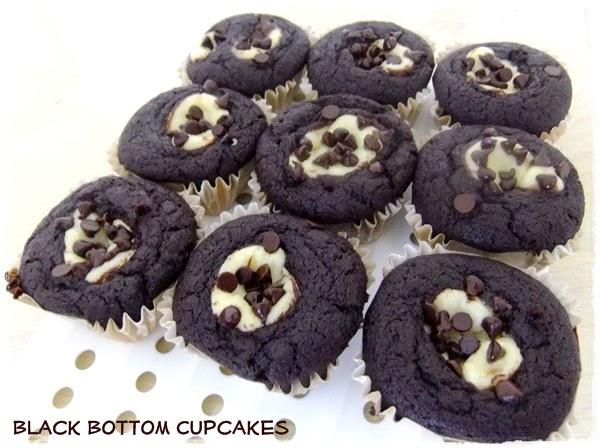 Tested & Tasted: Black Bottom Cupcakes