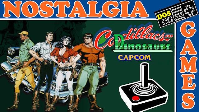 Cadillacs and Dinosaurs - Review do Clássico Beat'em Up da Capcom para Arcade