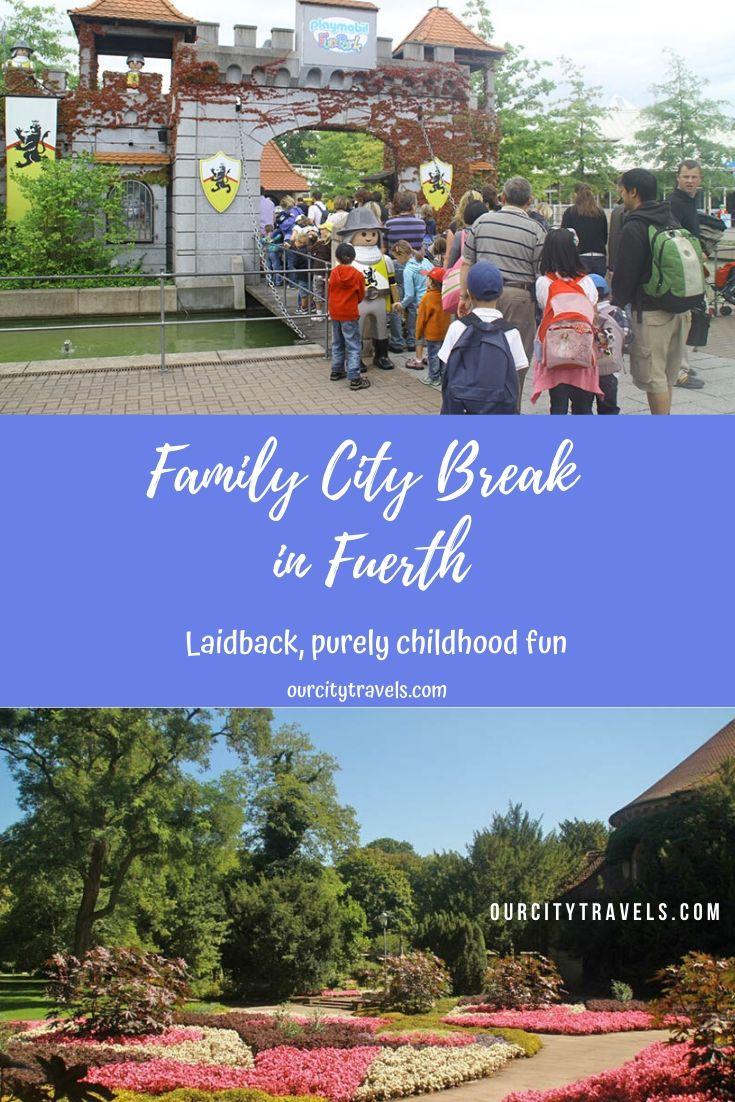 Family City Break in Fuerth Bavaria