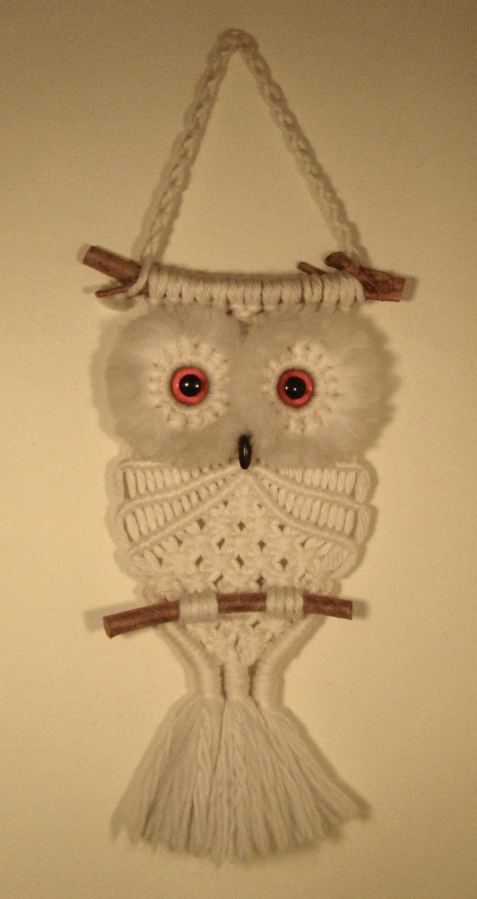 macrame owls re wait what about those tree slice clocks 7641