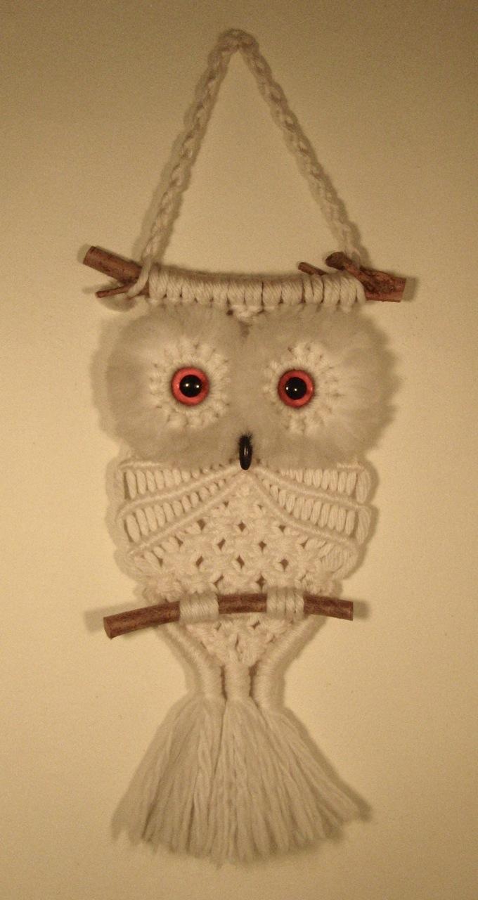 It S My Macram 233 Owl It S My Cake