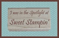 3 x Sweet Stamping Sportlight Winner