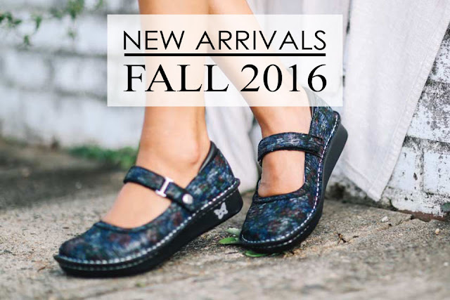 Alegria Shoe Shop Fall 2016 New Arrivals