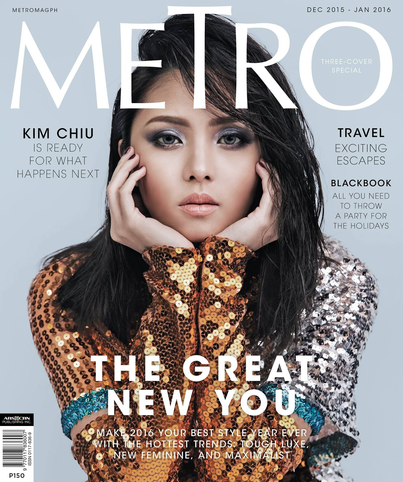 Kim Chiu photographed by Roy Macam for Metro Magazine's