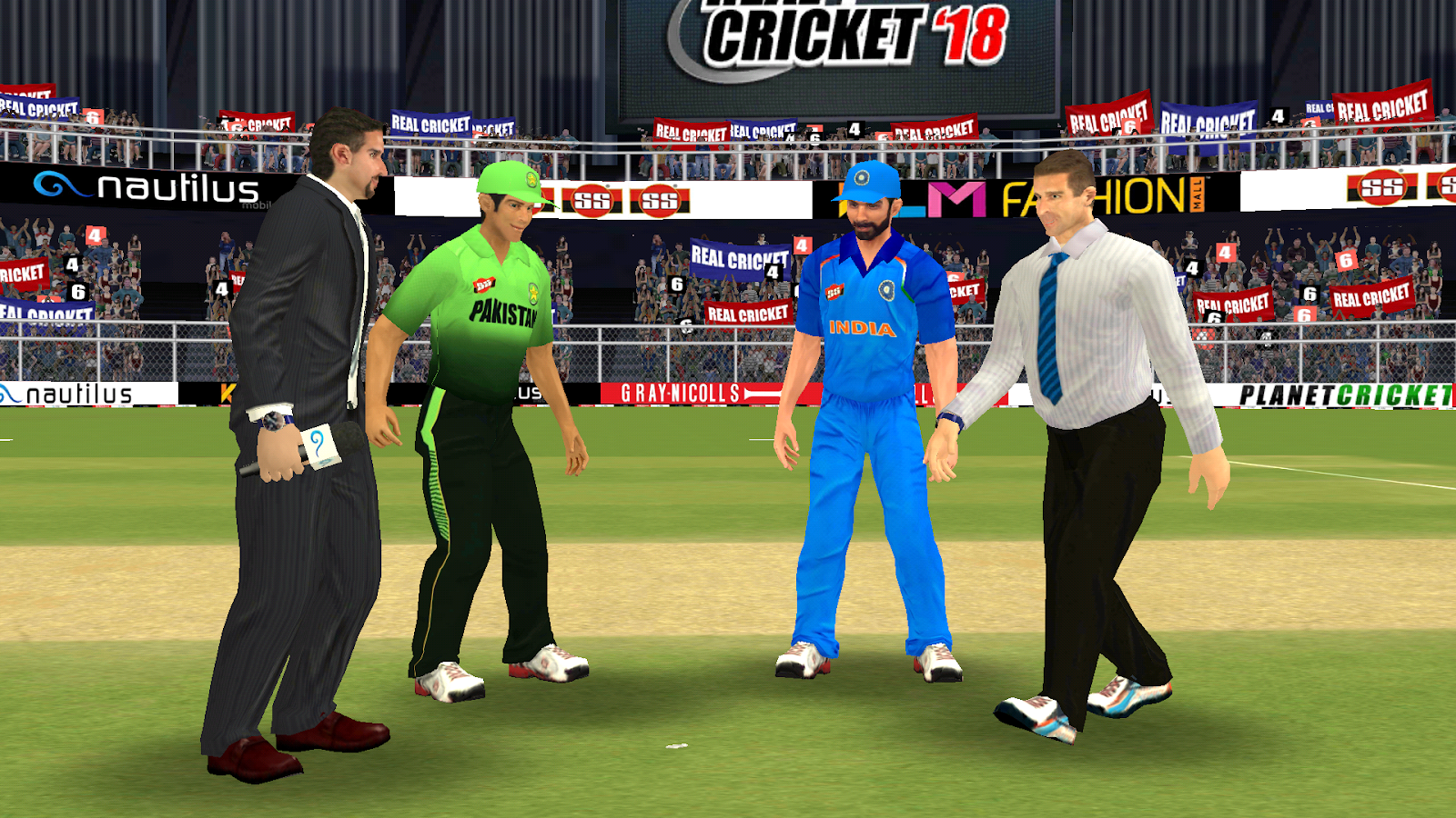 Star Gamers: Real Cricket 18 Mod Apk+Data