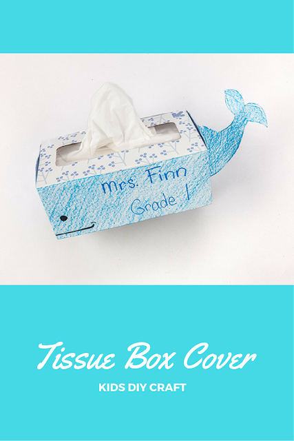 how to make tissue paper box at home
