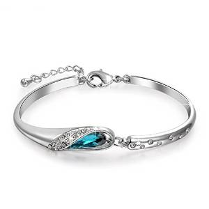 1 hours DEALS LOVELY GIFT BRACELET >> PURCHASE SOON £15.99 Pauline & Morgen CINDERELLA crystals Swarovski