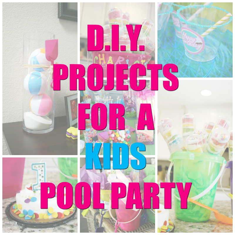Naptime Reviewer - DIY Pool Party Collage