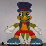patron gratis Pepito grillo amigurumi, free amiguru pattern Jiminy cricket