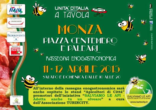 Unità d'Italia a Tavola 11 e 12 Aprile Monza