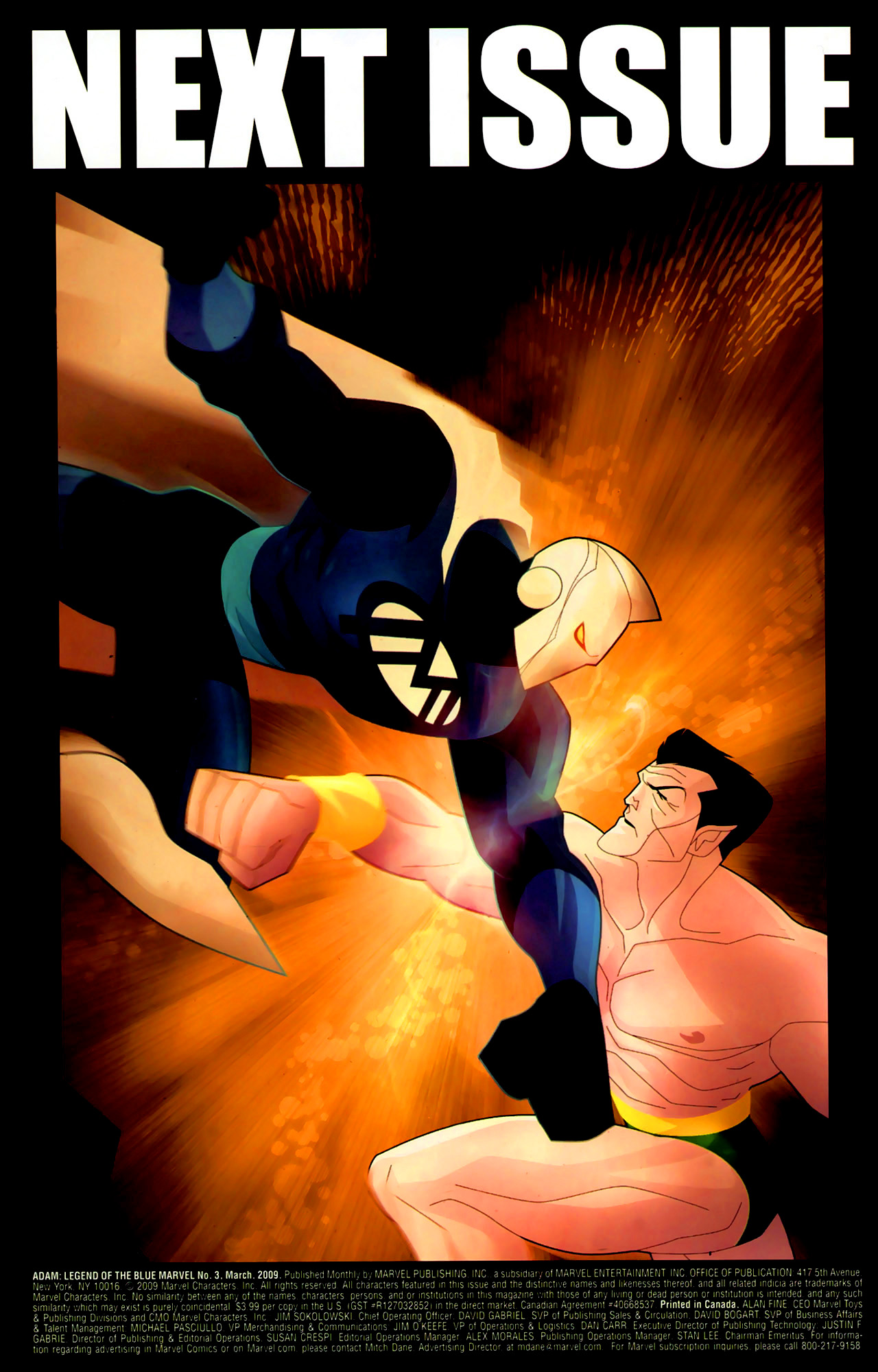 Read online Adam: Legend of the Blue Marvel comic -  Issue #3 - 24
